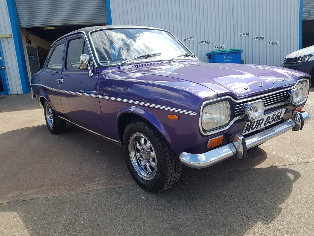 1973 Ford Escort 1300E - 37000 Miles For Sale (picture 2 of 6)