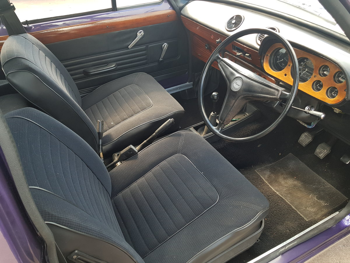 1973 Ford Escort 1300E - 37000 Miles For Sale (picture 5 of 6)