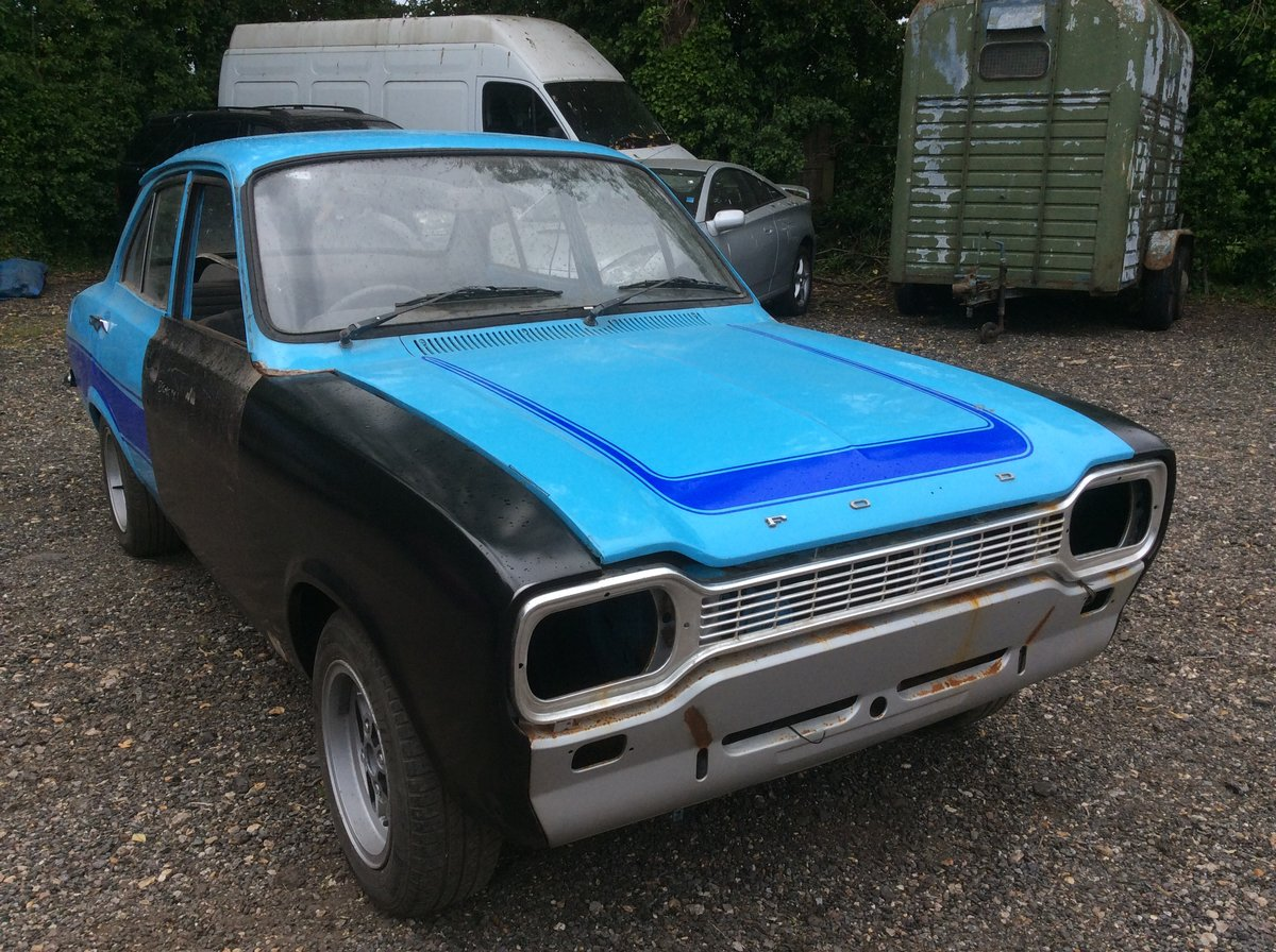 1974 Ford MK1 ESCORT 1.3 MANUAL (STARTS AND DRIVES) For Sale (picture 1 of 6)