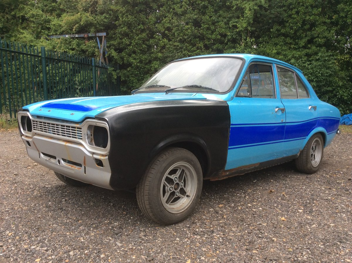 1974 Ford MK1 ESCORT 1.3 MANUAL (STARTS AND DRIVES) For Sale (picture 3 of 6)