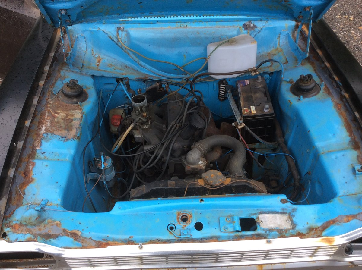 1974 Ford MK1 ESCORT 1.3 MANUAL (STARTS AND DRIVES) For Sale (picture 4 of 6)