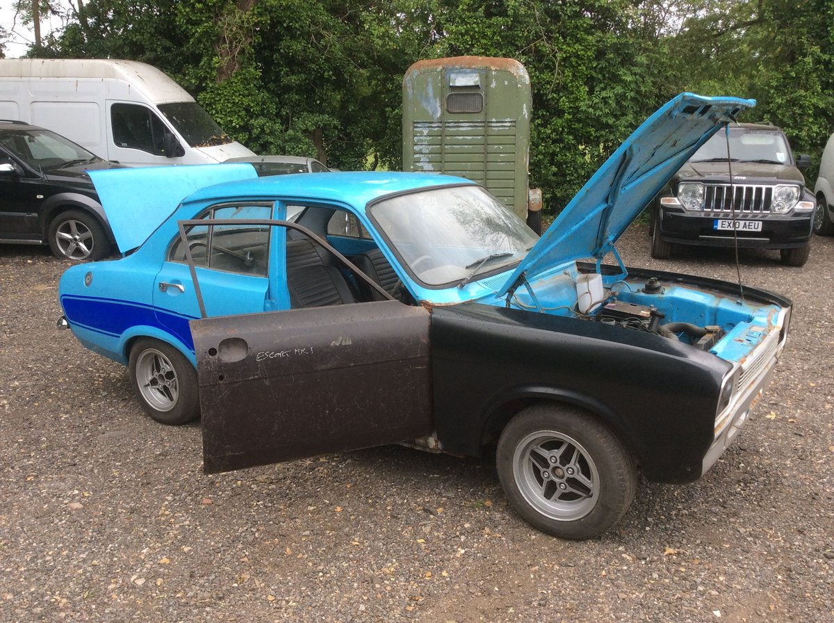 1974 Ford MK1 ESCORT 1.3 MANUAL (STARTS AND DRIVES) For Sale (picture 5 of 6)