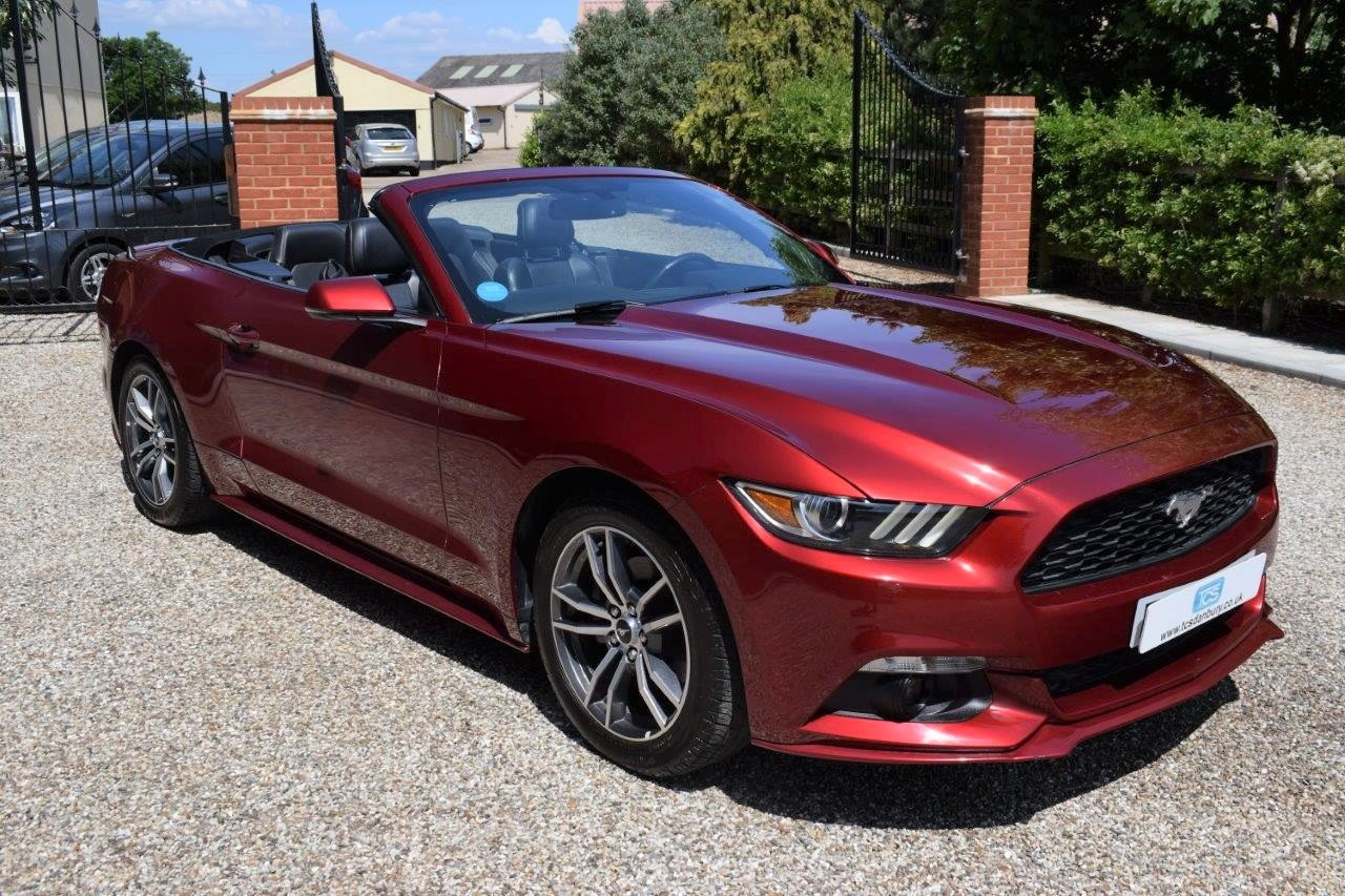 2017 Ford Mustang Premium Convertible Automatic EcoBoost For Sale (picture 1 of 6)