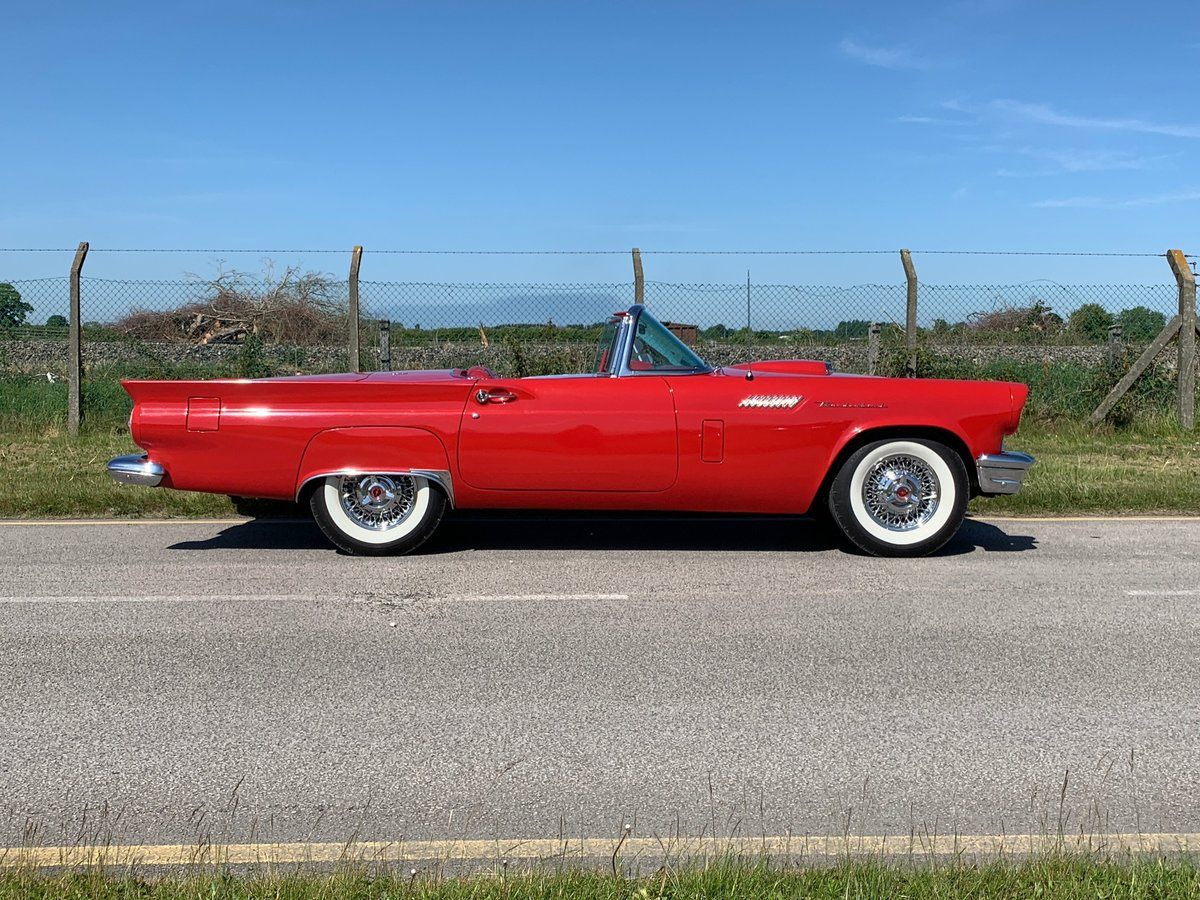 Stunning 1957 Ford T-Bird Multiple Award Winner For Sale (picture 4 of 6)