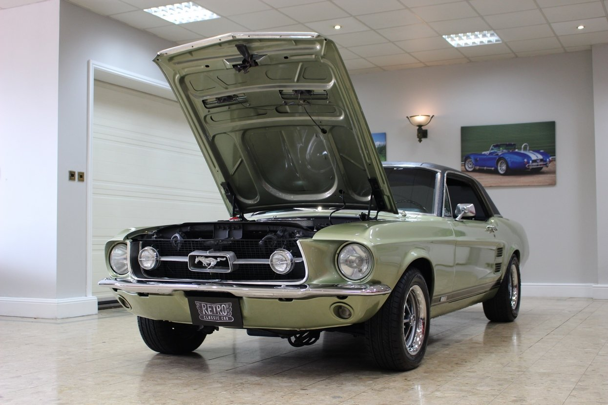 1967 Ford Mustang S-Code 390 GTA V8 Auto | Rare 390 GTA  For Sale (picture 5 of 10)