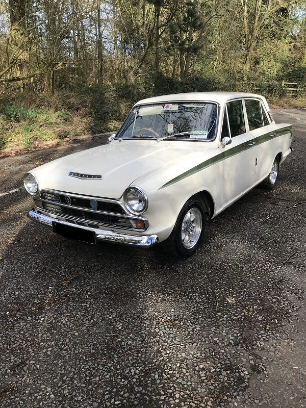1966 Ford Cortina 1500 GT  MK1 For Sale (picture 1 of 6)