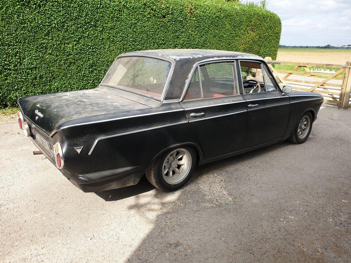 1963 ford mk1 cortina 1500 super SOLD (picture 5 of 6)