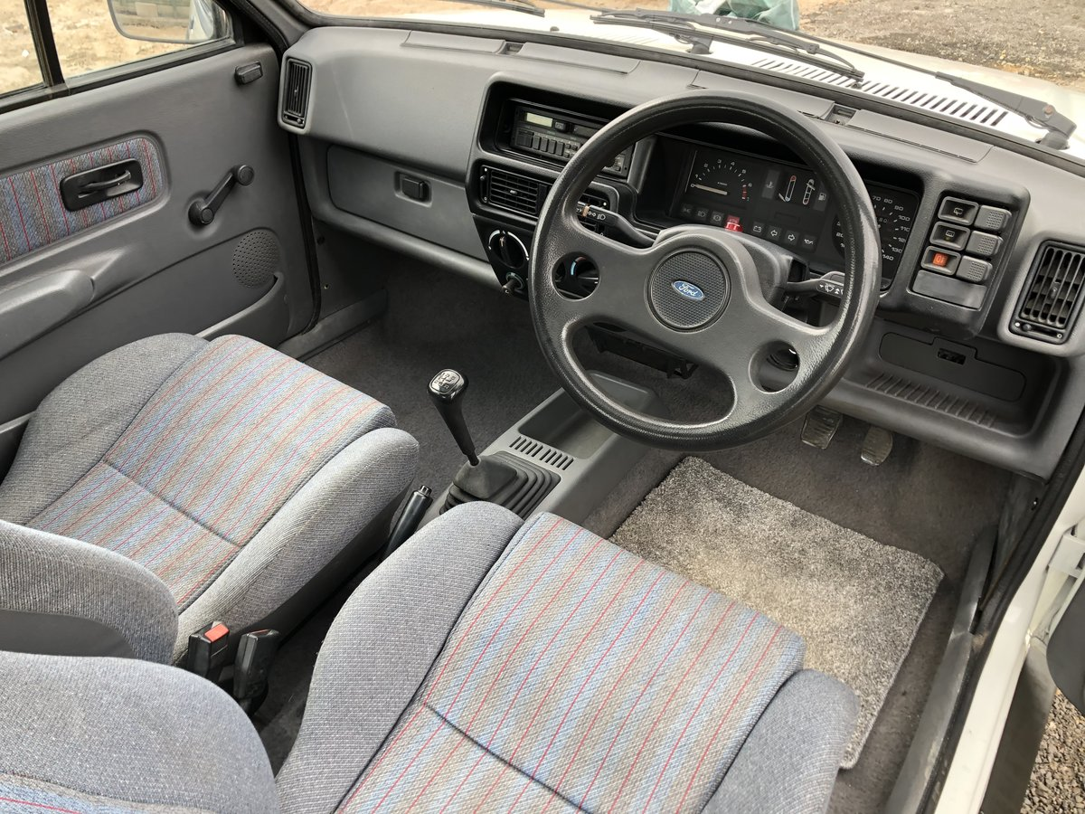 1987 Ford Fiesta XR2 For Sale (picture 5 of 6)