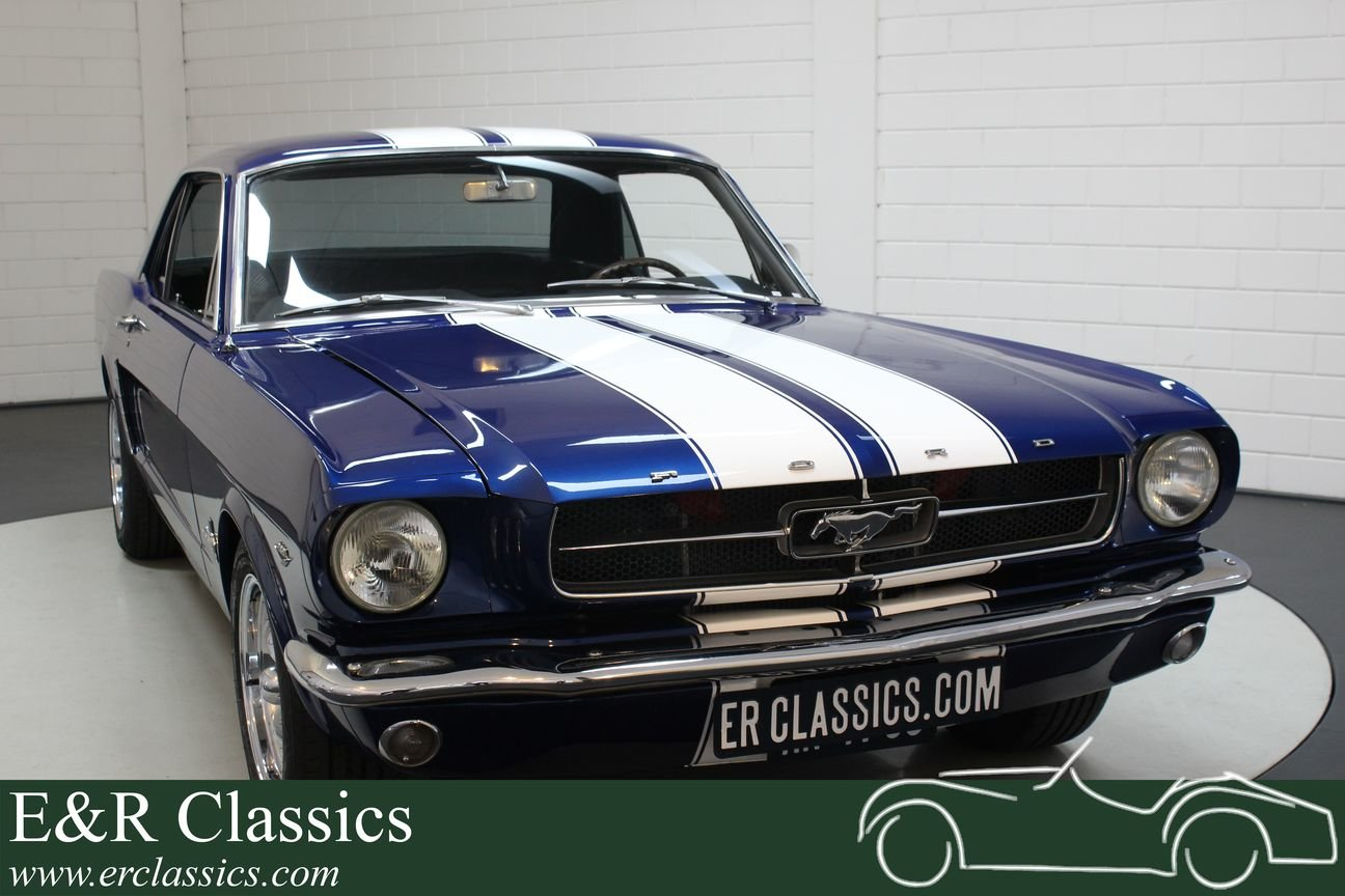 Ford Mustang V8 coupe 1965 In very good condition For Sale (picture 1 of 6)