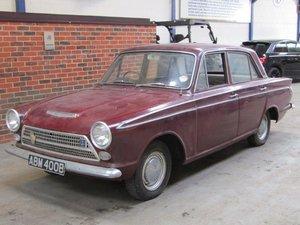1964 Ford Cortina 1500 Super MKI NO RESERVEat ACA 20th June