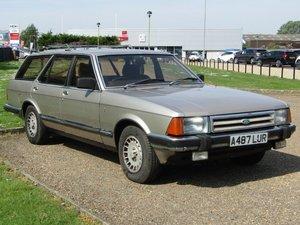 1983 Ford Granada 2.8 Ghia X MK II Est at ACA 20th June