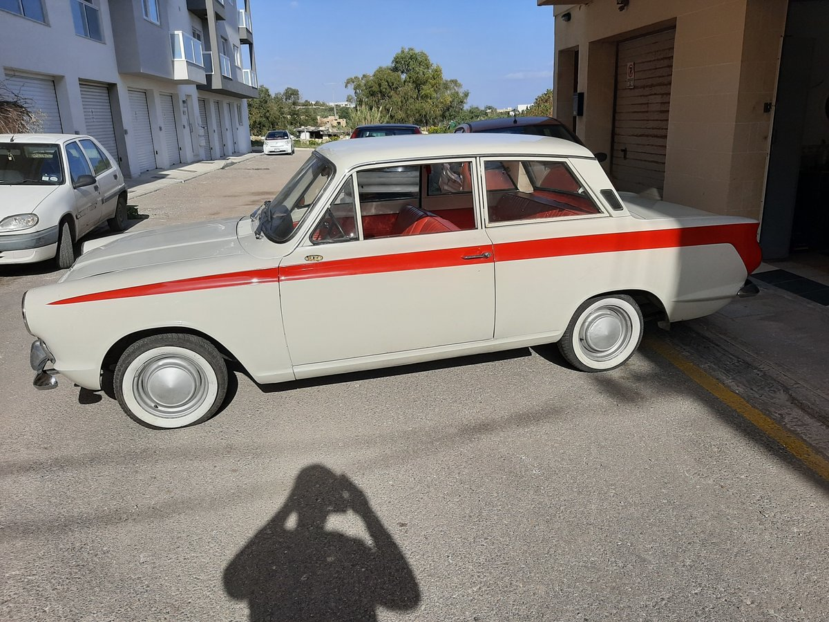 1966 Ford cortina mk1 2doors lhd For Sale (picture 1 of 6)