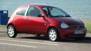 2007 FORD KA CLIMATE STYLE 3 DOOR HATCH