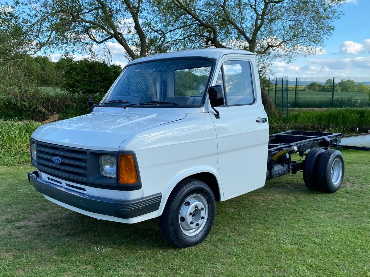 1986 FORD TRANSIT MK2 DIESEL PICK UP TRUCK VAN For Sale (picture 1 of 3)