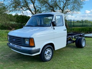 1986 FORD TRANSIT MK2 DIESEL PICK UP TRUCK VAN For Sale