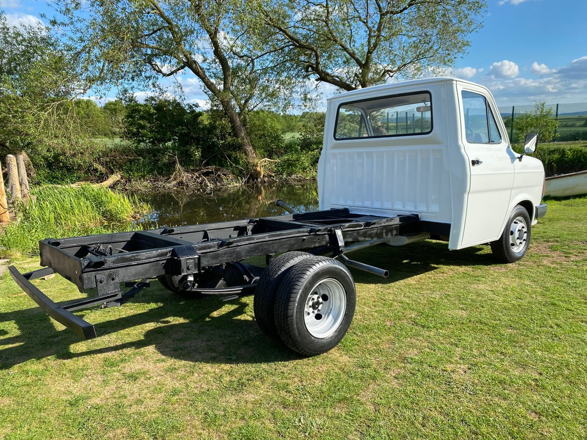 1986 FORD TRANSIT MK2 DIESEL PICK UP TRUCK VAN For Sale (picture 2 of 3)