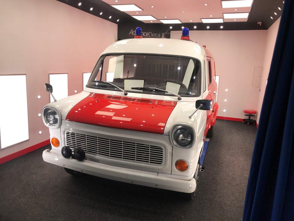 1972 Ford Transit Mk1 Fire Crew Cab Van 1974 For Sale (picture 1 of 6)