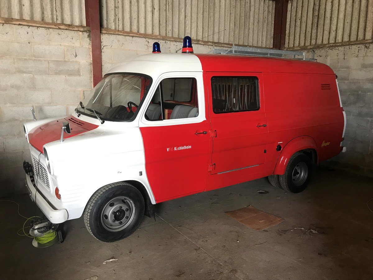 1972 Ford Transit Mk1 Fire Crew Cab Van 1974 For Sale (picture 4 of 6)