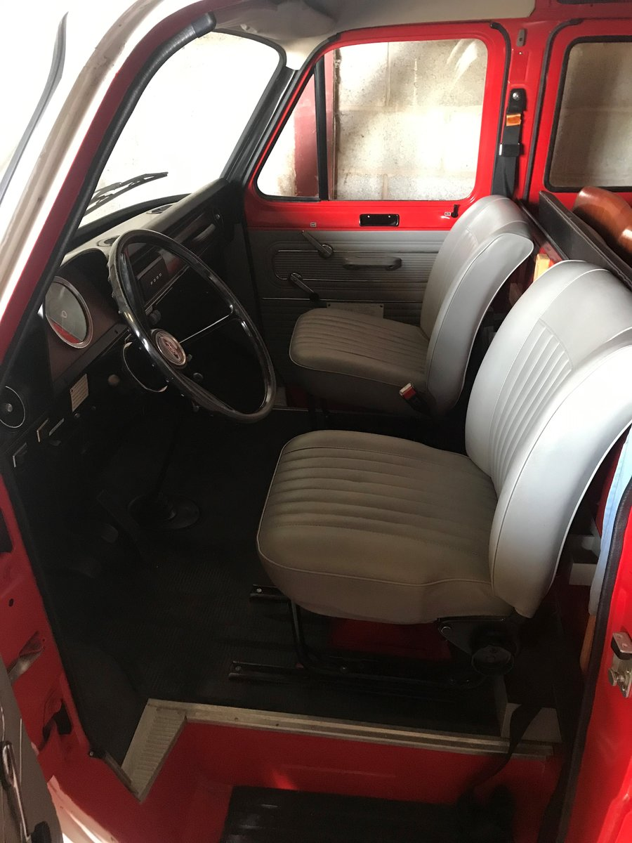 1972 Ford Transit Mk1 Fire Crew Cab Van 1974 For Sale (picture 5 of 6)