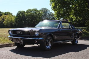 Ford Mustang Coupe Auto 1966 - To be auctioned 26-06-20