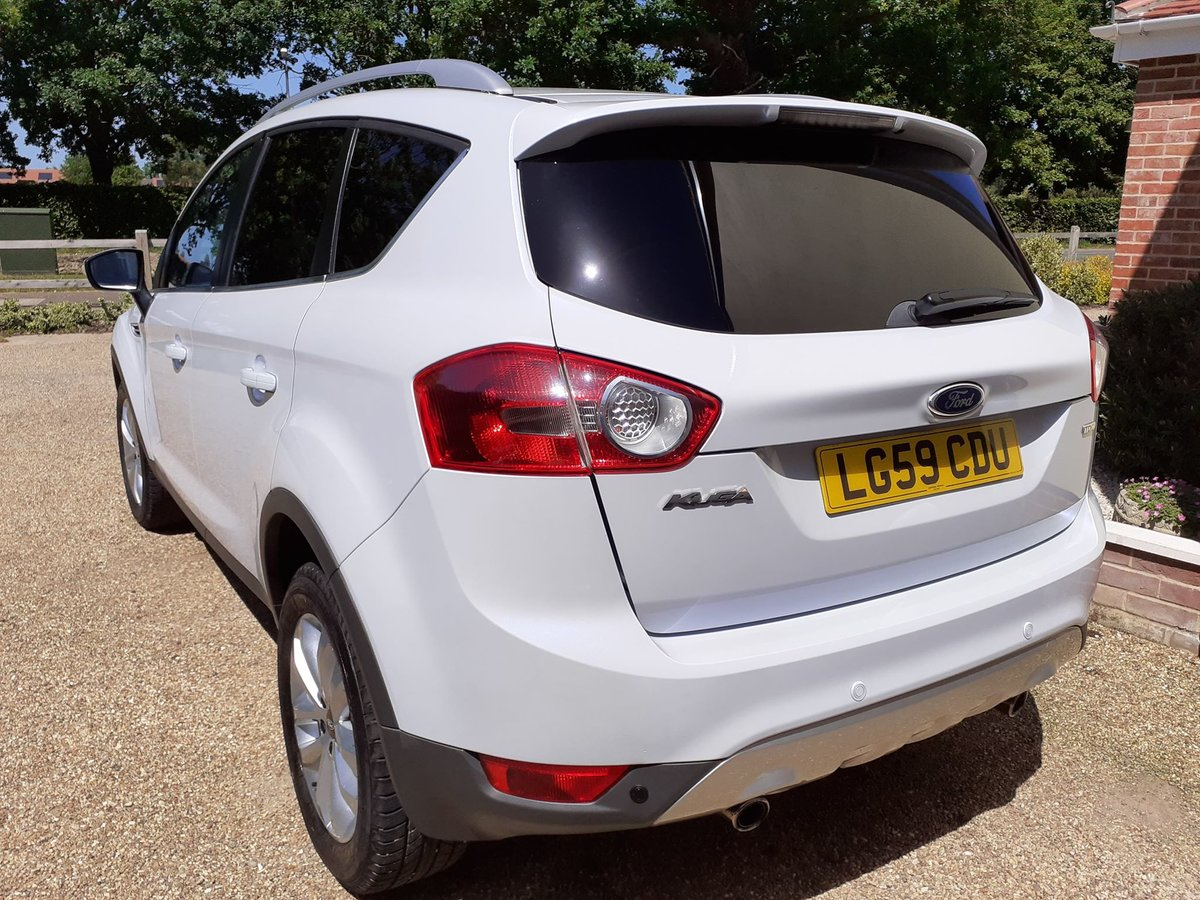 2009 Ford kuga 2.0tdci titanium 2wd 5 door low mileage For Sale (picture 3 of 6)