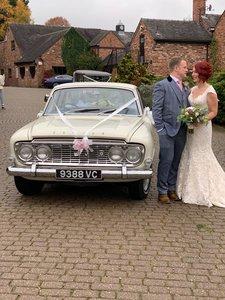 1963 FORD ZODIAC MK3 WEDDING CAR