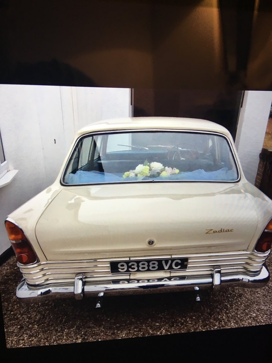 1963 FORD ZODIAC MK3 WEDDING CAR For Hire (picture 6 of 6)