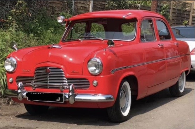 1954 Ford Zephyr MK1 For Sale (picture 1 of 4)