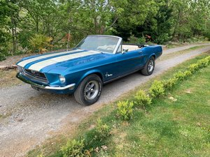 Ford Mustang 302 V8 J Code Convertible