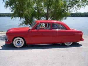 1950 Ford Custom 2DR Coupe
