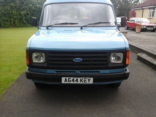 1984 A FORD TRANSIT 2.0, 100L, LONG WHEELBASE For Sale (picture 1 of 4)