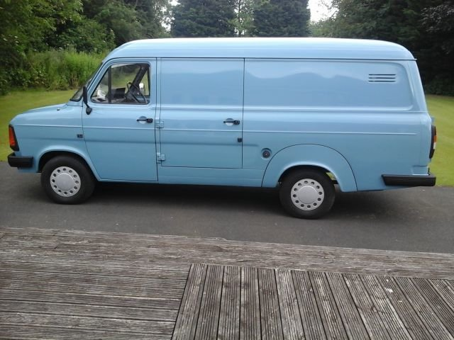 1984 A FORD TRANSIT 2.0, 100L, LONG WHEELBASE For Sale (picture 3 of 4)