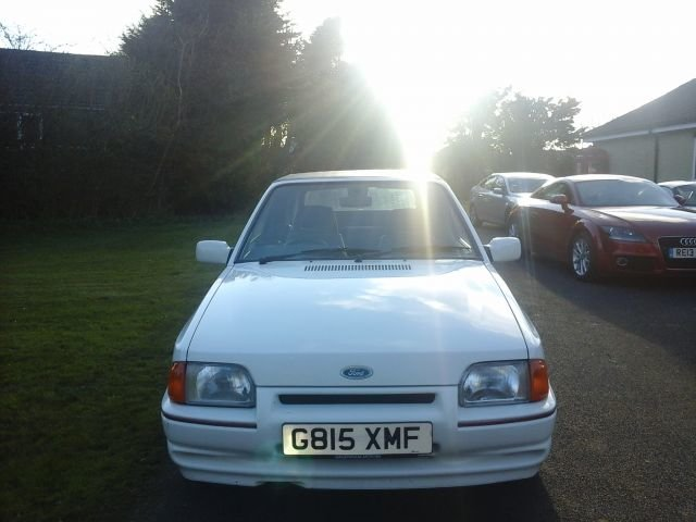 1990 FORD ESCORT 1.6 XR3i 3 DOOR For Sale (picture 1 of 4)