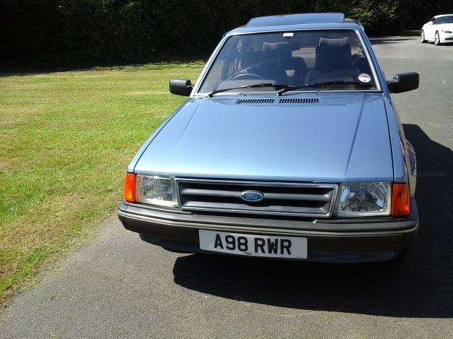 1983 A FORD ORION 1.6 GHIA, AUTOMATIC, 4 DOOR For Sale (picture 1 of 4)