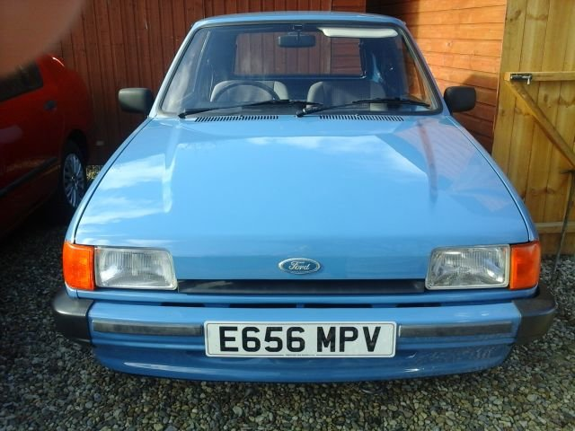 1988 E FORD FIESTA VAN MK2 For Sale (picture 1 of 4)
