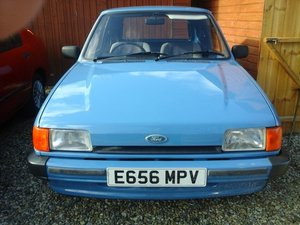 1988 E FORD FIESTA VAN MK2 For Sale
