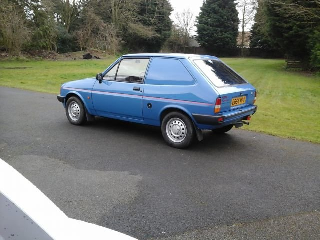 1988 E FORD FIESTA VAN MK2 For Sale (picture 3 of 4)