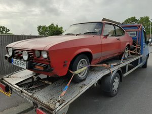 Ford Capri 2000S barn find