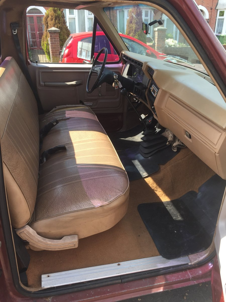 1984 Ford F150 V8 For Sale (picture 4 of 6)