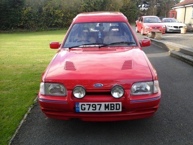 1989 G FORD ESCORT 1.3 MK 4 VAN For Sale (picture 1 of 4)
