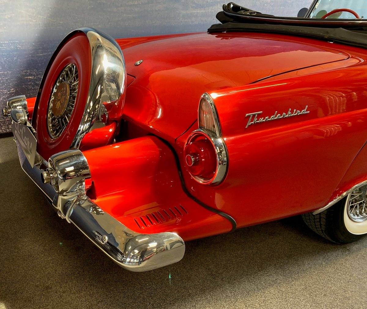 1955 Ford Thunderbird Roadster For Sale (picture 6 of 6)