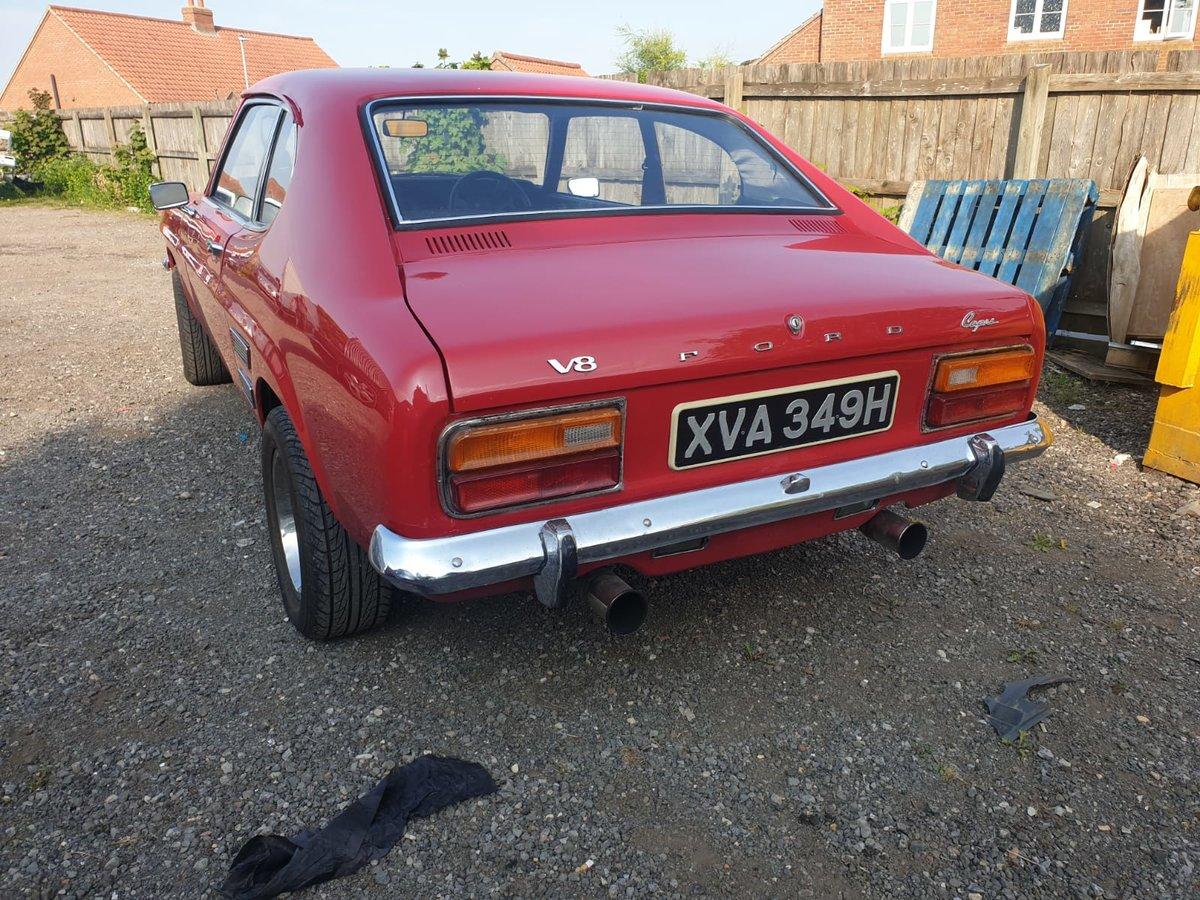 1970 Ford Capri mk1 For Sale (picture 3 of 6)