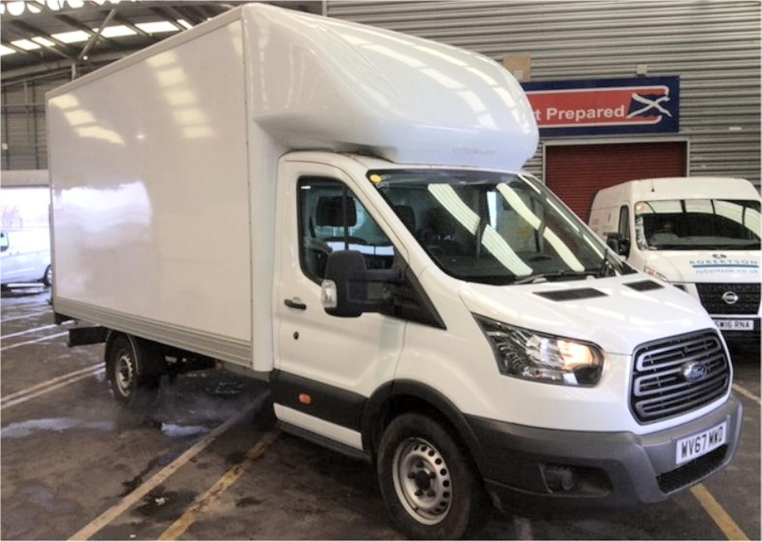 2017 - 67 Ford Transit 2.0TDCi 350 ( 130 BHP ) LUTON LWB  For Sale (picture 1 of 6)