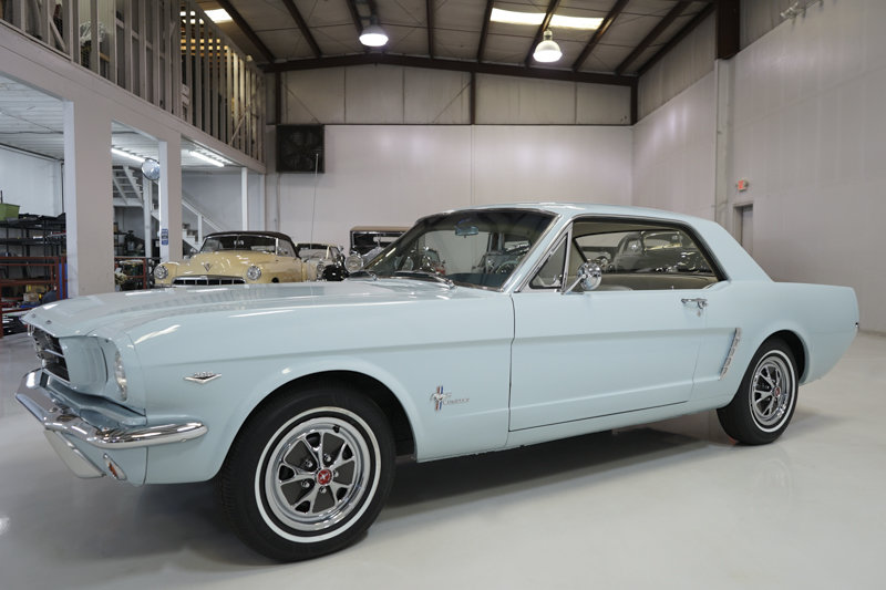 1965 Ford Mustang V8 Coupe For Sale (picture 1 of 6)