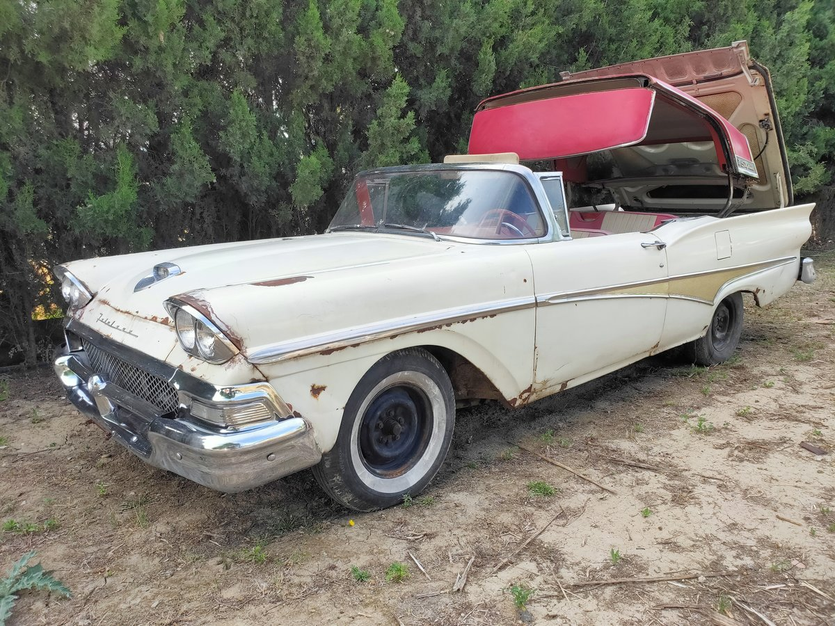 1958 Ford Skyliner For Sale (picture 1 of 6)