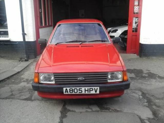 1983 A FORD ESCORT , 1.1L , 5 DOOR MK 3 For Sale (picture 1 of 4)