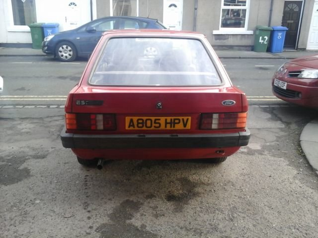 1983 A FORD ESCORT , 1.1L , 5 DOOR MK 3 For Sale (picture 2 of 4)