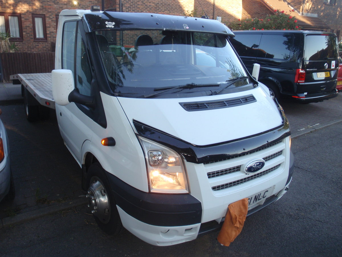 2012 Ford Transit  Recovery . ULEZ compliant. NO VAT. For Sale (picture 1 of 6)