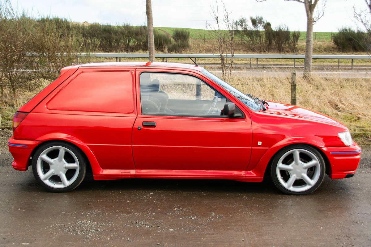 1989 Ford fiesta xrv 1.8 diesel For Sale (picture 1 of 6)