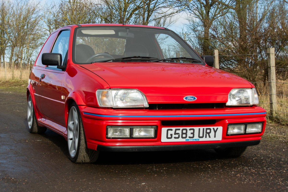 1989 Ford fiesta xrv 1.8 diesel For Sale (picture 2 of 6)